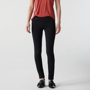 BLACK AG THE STILT CIGARETTE SKINNY JEANS